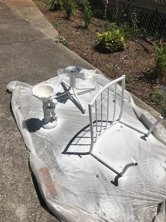 give a chair new life