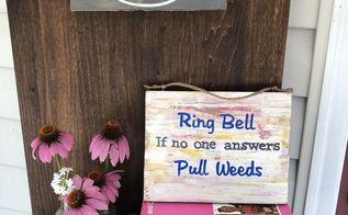 ring doorbell if no one answers pull weeds sign take 2