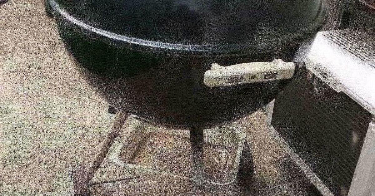 Charcoal Grill Fire Pit | Hometalk