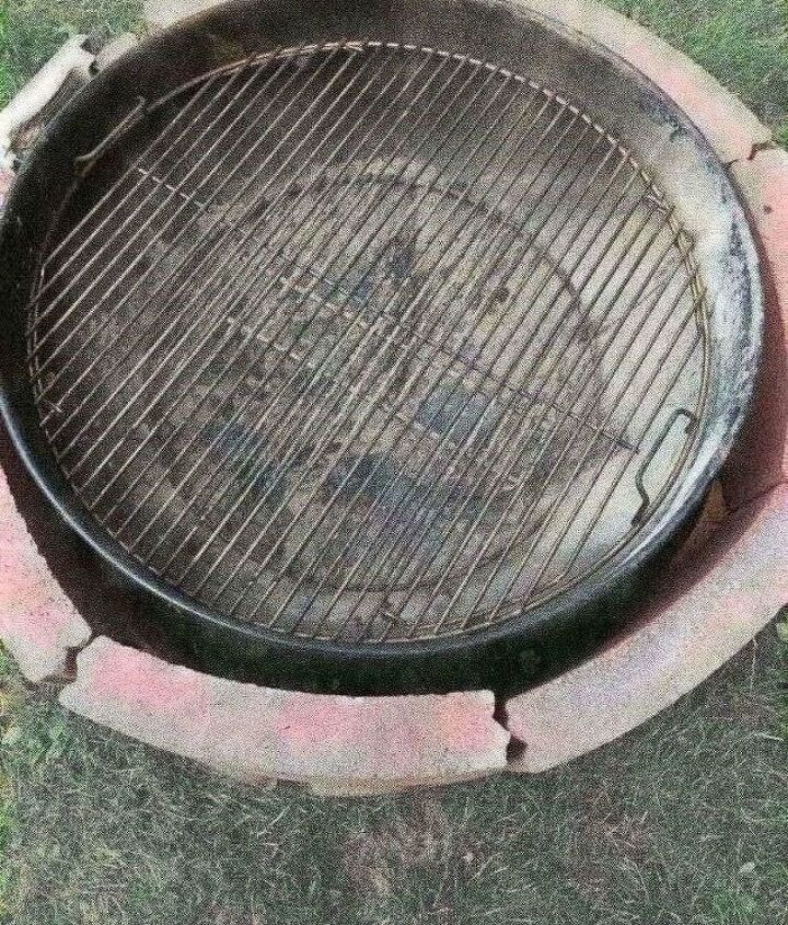 charcoal grill fire pit