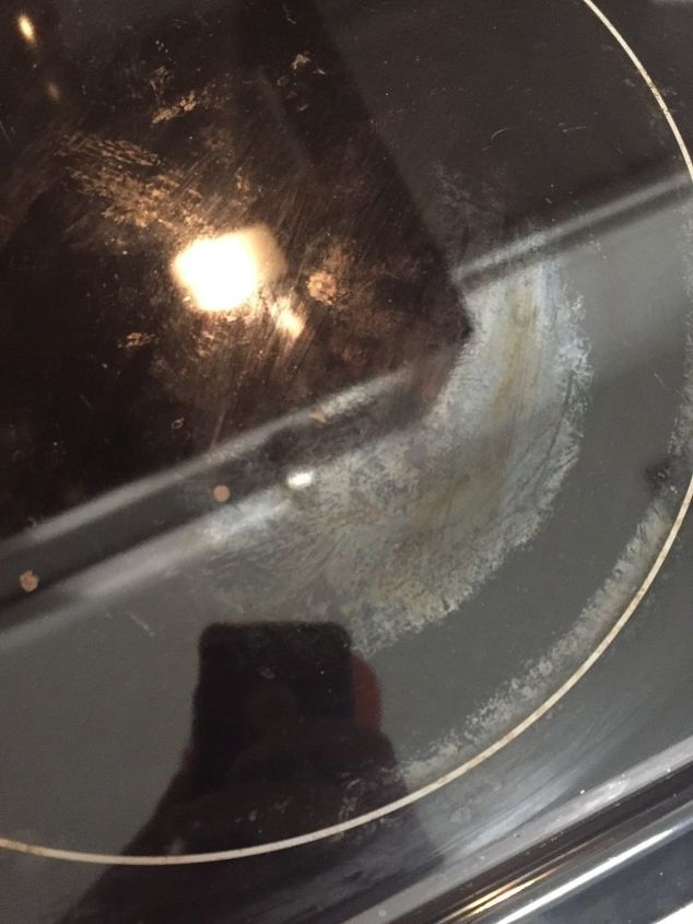 q ceramic stove top discoloration