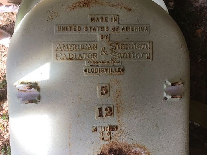 q i m refinishing a claw foot tub can anyone tell me how old it is