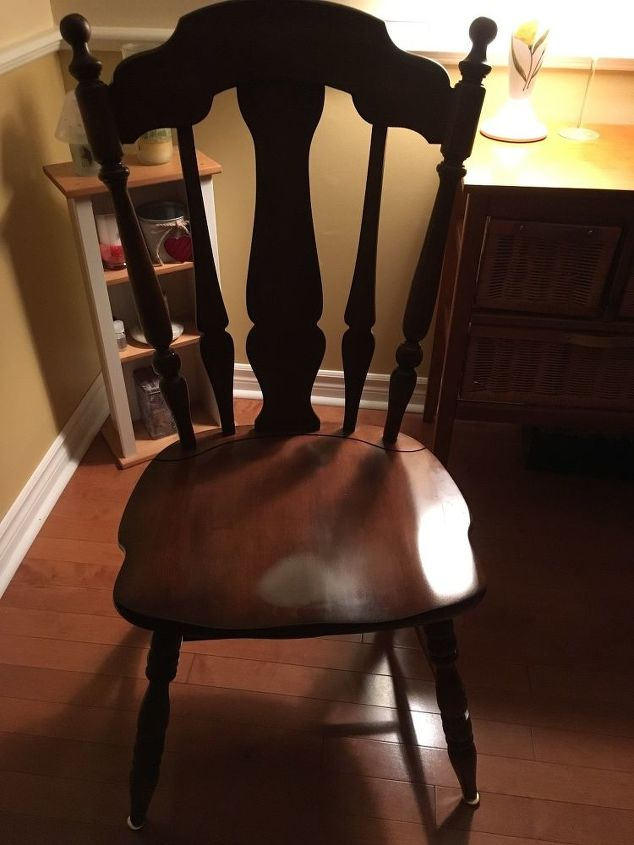 q any ideas for covering my odd shaped dining room chairs