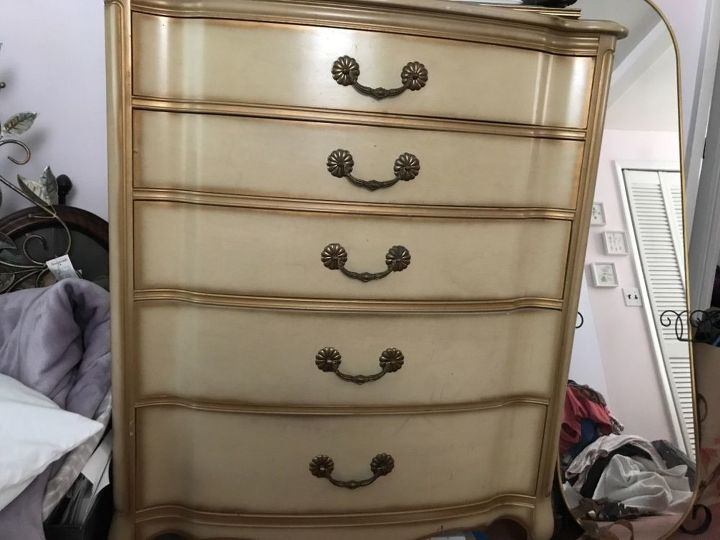 q what s the best paint to use on a 55 year old provincial bedroom set