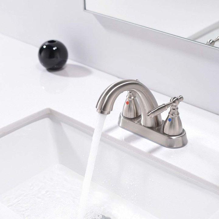 q replace a bath faucet