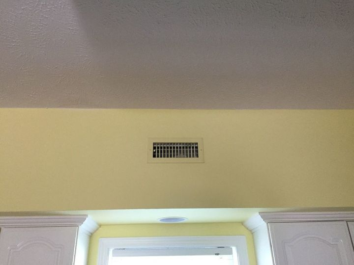 q how can i decorate around a small air vent on a soffit
