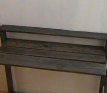 easy build pallet vanity or desk