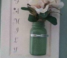 hanging mason jar, All done