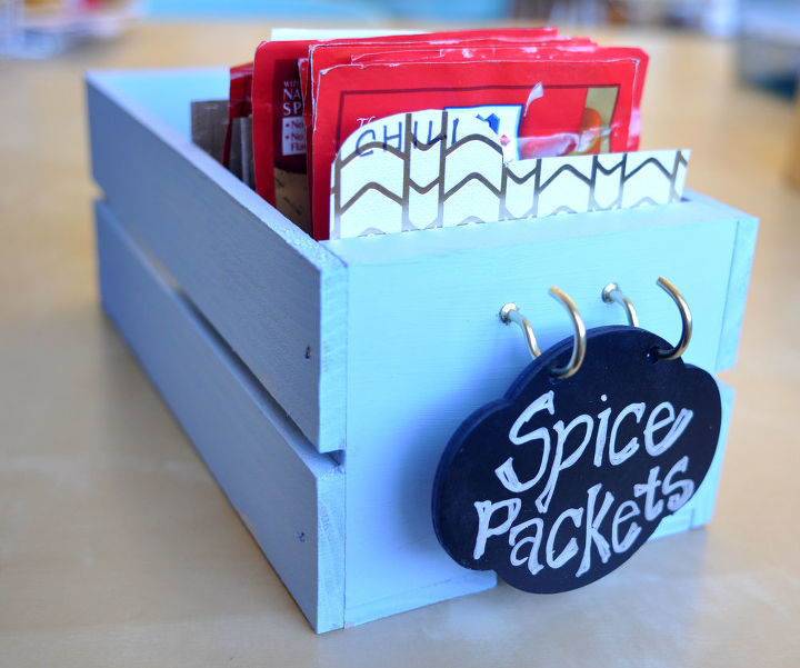 s 30 super cute easy diy ideas for your kitchen, This Simple Spice Organizer