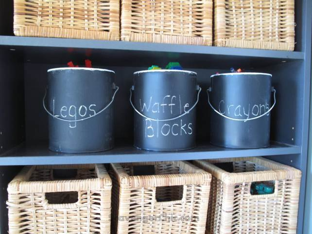 s 15 things to do with scrap material, Transformed Paint Cans