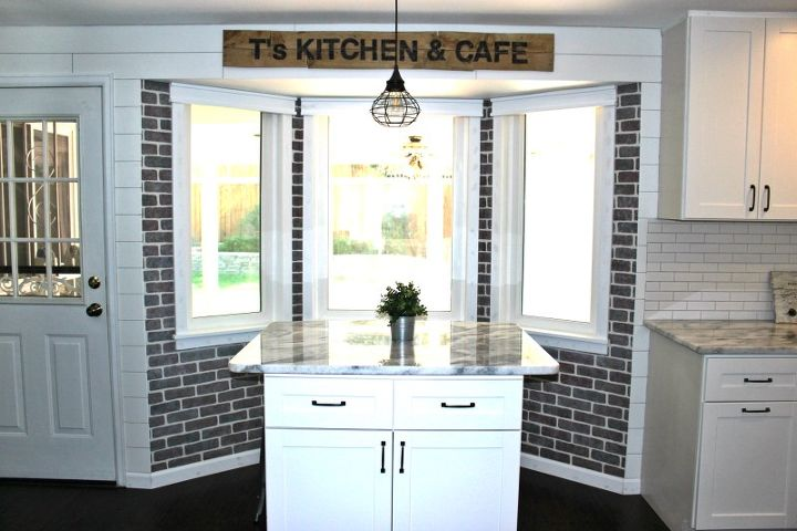 s 17 faux brick ideas for your home, Stenciling Method For Beginners