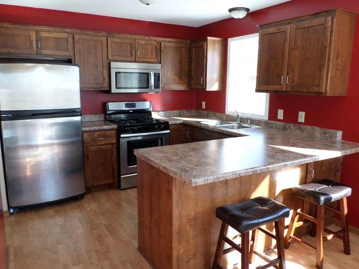 s 17 diy inspiring kitchen backsplashes, Faux Tile With Paint