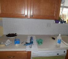 kitchen backsplash re do on a budget