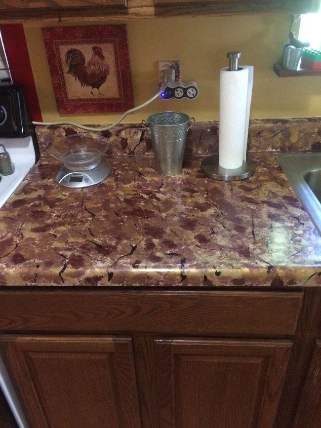 q repaint or replace countertop