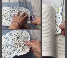 seed paper making an easy gift, After