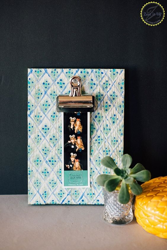 s 15 gorgeous bohemian inspired decor items to make for yourself, Hold Onto Memories With A Clipboard