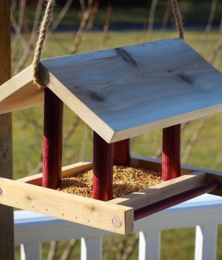 s 18 adorable bird feeders you ll want to make right now, Build a classic bird feeder