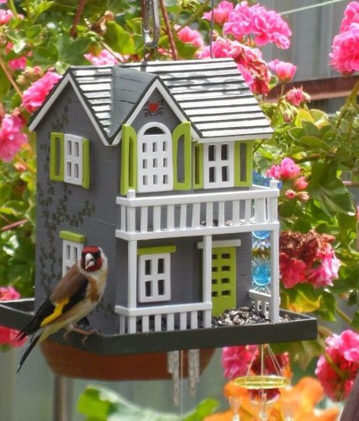 s 18 adorable bird feeders you ll want to make right now, Assemble a home for them