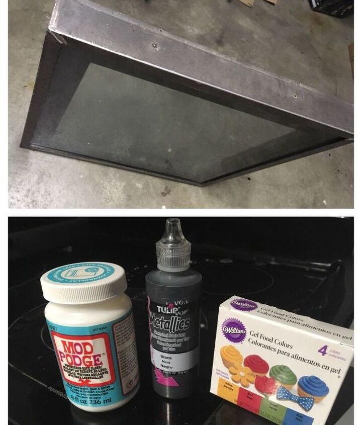 skylight window to stained glass table part 1
