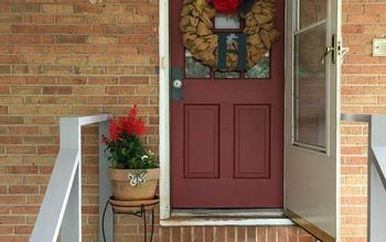 how to paint your front door entry