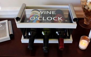 diy table top wine rack