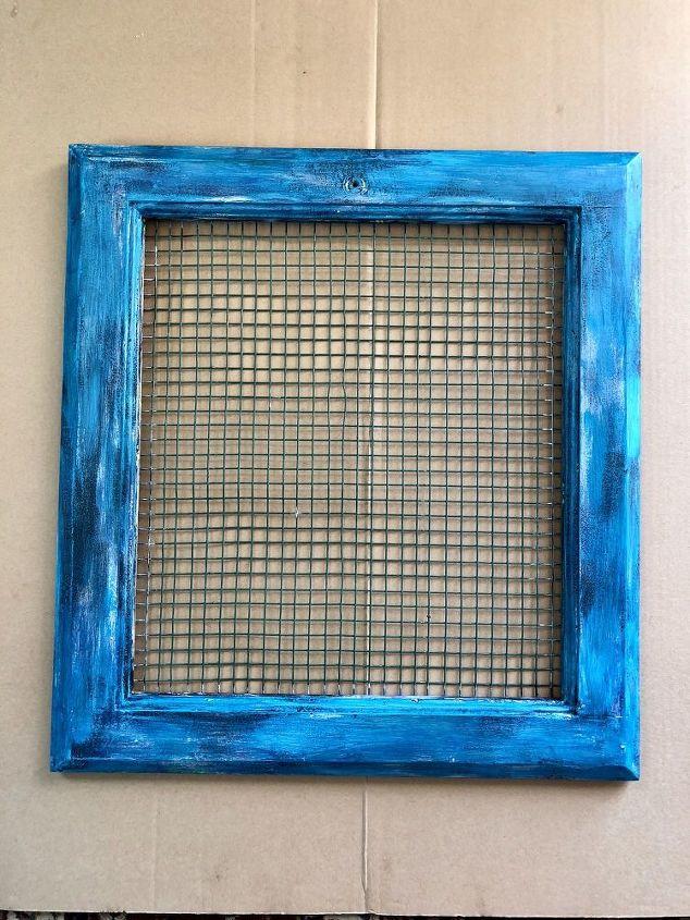 window cross stitch art