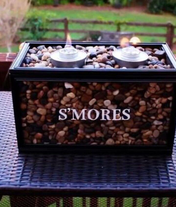 diy s mores bar burner