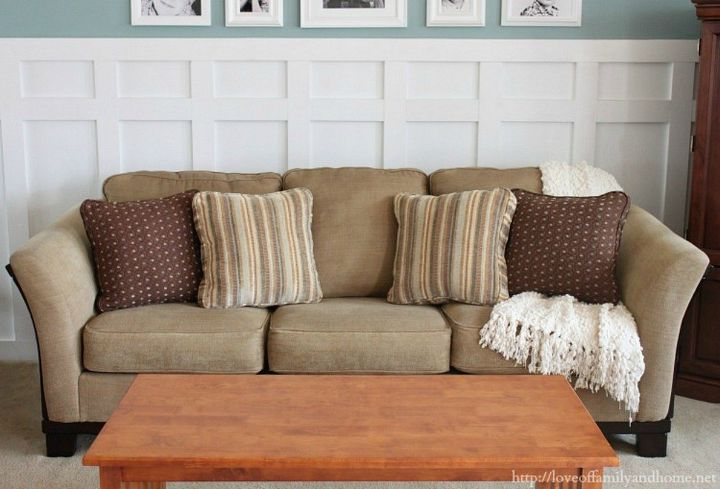 s the top 10 quick home repair tricks every homeowner should know, Re stuff sagging sofa cushions with Poly Fil