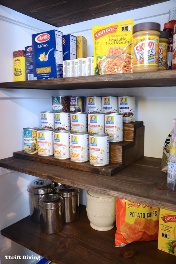 s these bloggers came up amazing organization ideas, Can Food Organizer