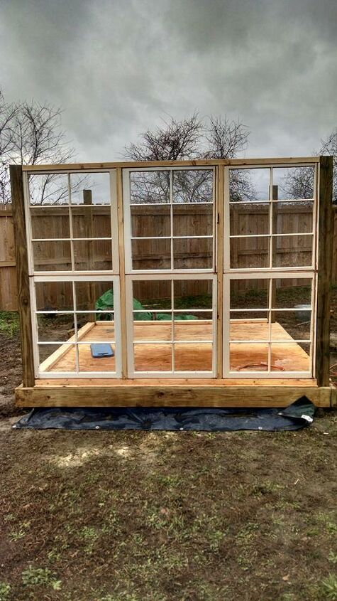 s 10 unique ways to plant your herb garden, Build A Big Greenhouse From Windows