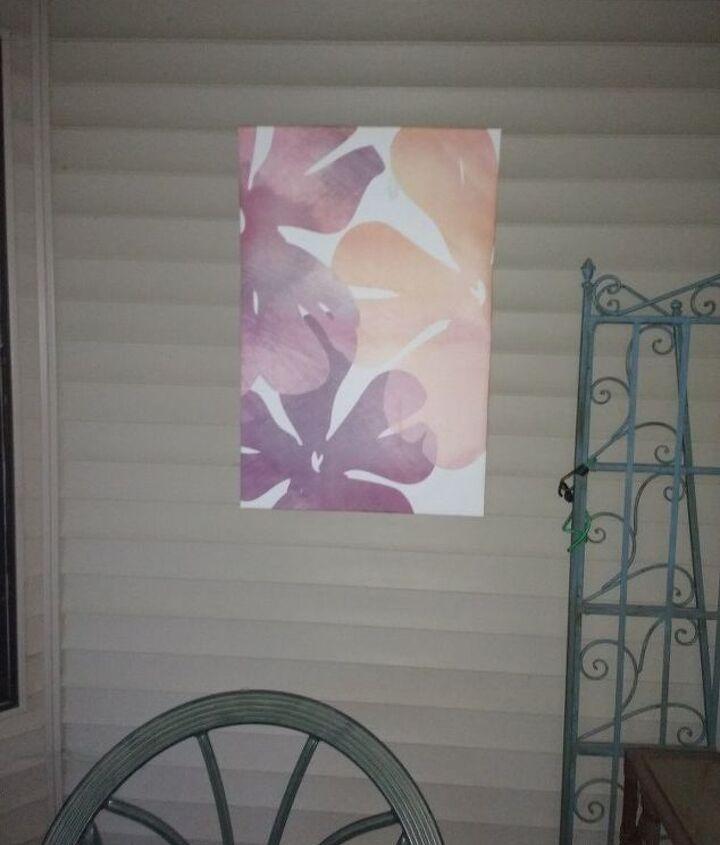 q how to restore original colors to canvas print