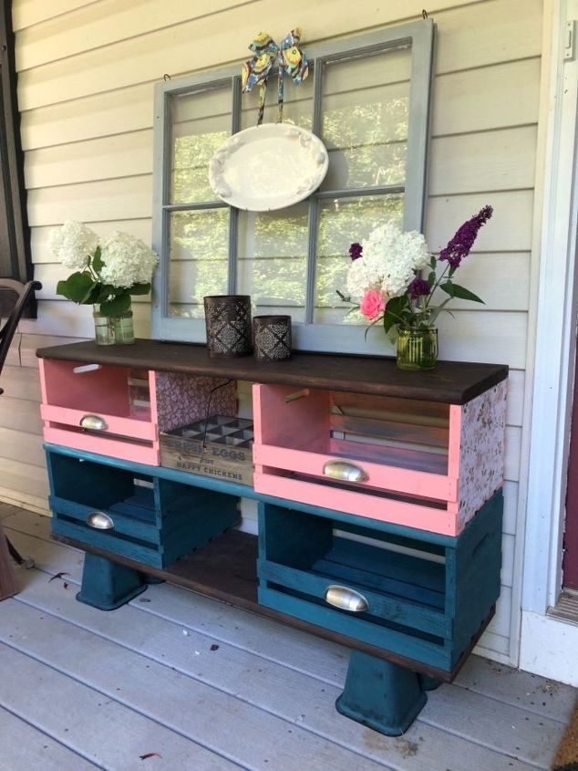 how to build a dresser of sorts in a minute and a half