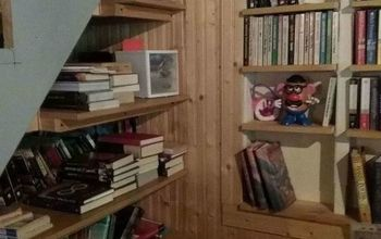 cruddy corner to mini library