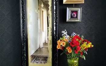 Antiqued Victorian Mirror Gallery Wall