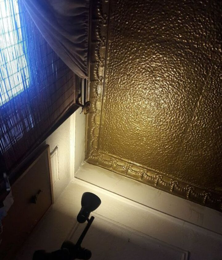 q i have an original pressed tin ceiling i three rooms of my apartment