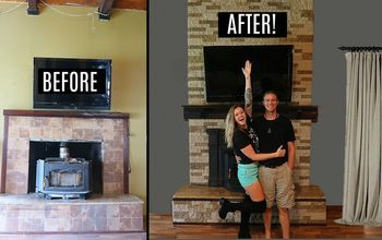 airstone fireplace transformation new 2018