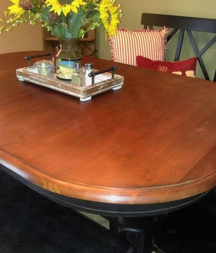 q how to redo kitchen table top
