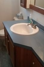 countertop update bathroom