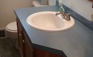 countertop update bathroom