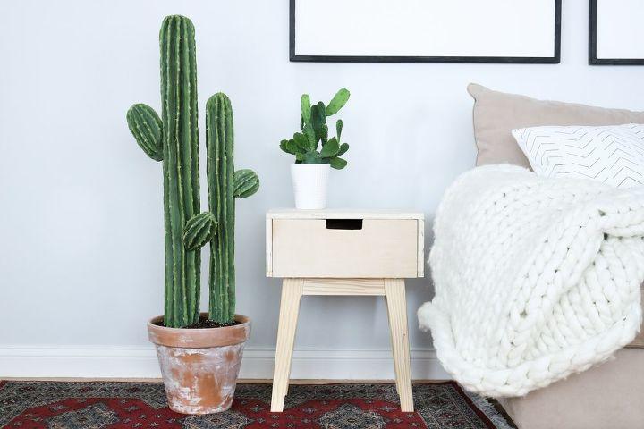 diy pool noodle cactus