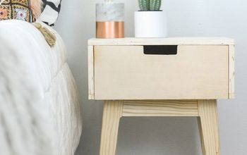 nightstand diy with 2x3 s