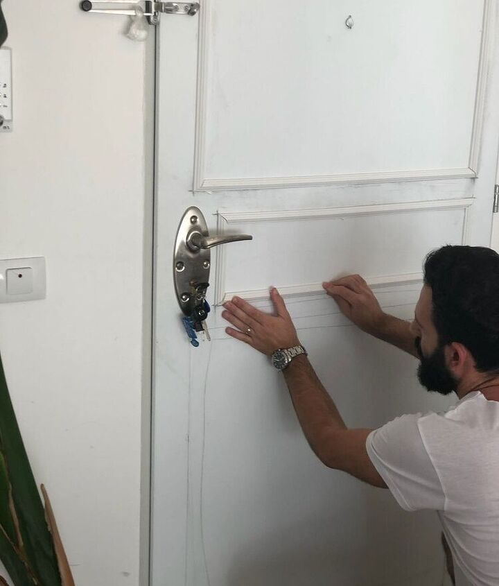 door transformation, Place them all on the door