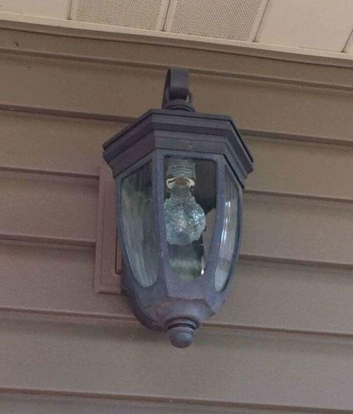 outdoor light fixtures transformed for under 3