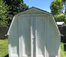 q shed painted now what