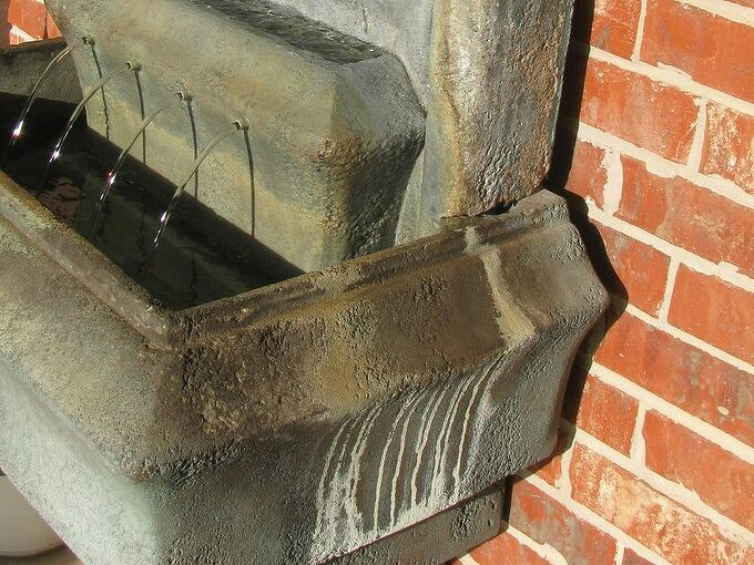 q how do i repair the finish on my fountain