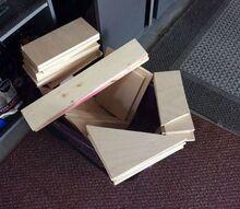 q left over maple plywood