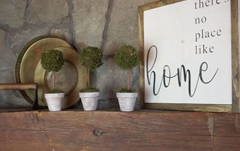 DIY Mini Topiaries