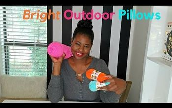 DIY OUTDOOR PILLOWS