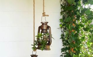 pulley me up some lantern planters