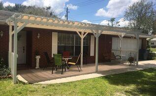 front porch pergola